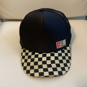 Vans off the wall hat unisex checkered SnapBack